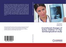 Capa do livro de Craniofacial changes of Suttur children 11-14yr Semilongitudinal study