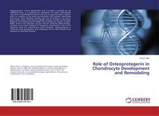 Bookcover of Role of Osteoprotegerin in Chondrocyte Development and Remodeling