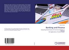 Bookcover of Banking and Finance