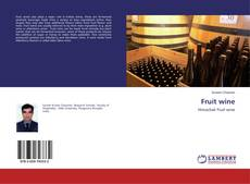 Bookcover of Fruit wine