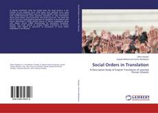 Bookcover of Social Orders in Translation