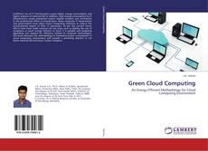 Bookcover of Green Cloud Computing