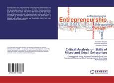 Copertina di Critical Analysis on Skills of Micro and Small Enterprises