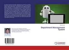 Couverture de Department Management System