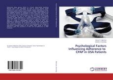 Buchcover von Psychological Factors Influencing Adherence to CPAP in OSA Patients