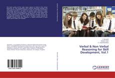 Buchcover von Verbal & Non Verbal Reasoning for Skill Development, Vol.1