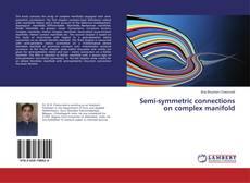 Capa do livro de Semi-symmetric connections on complex manifold