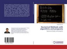 Couverture de Numerical Methods with algorithms and programs