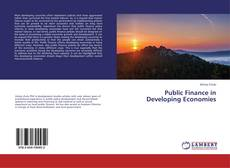 Bookcover of Public Finance in Developing Economies