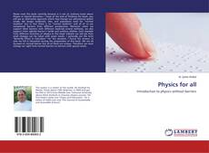 Bookcover of Physics for all