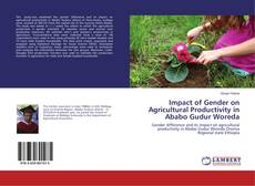 Bookcover of Impact of Gender on Agricultural Productivity in Ababo Gudur Woreda