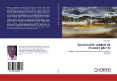 Bookcover of Sustainable control of invasive plants