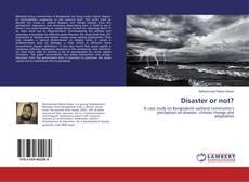 Borítókép a  Disaster or not? - hoz