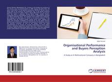 Обложка Organisational Performance and Buyers Perception Analysis