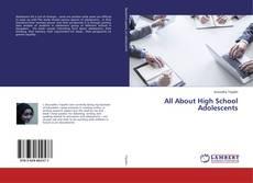 Buchcover von All About High School Adolescents