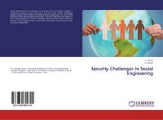 Bookcover of Security Challenges in Social Engineering