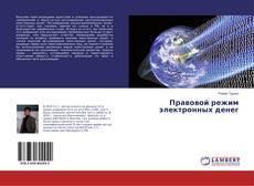 Bookcover of Правовой режим электронных денег