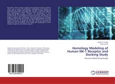 Bookcover of Homology Modeling of Human NK-1 Receptor and Docking Study