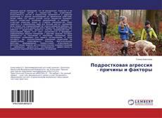 Buchcover von Подростковая агрессия - причины и факторы
