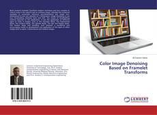 Color Image Denoising Based on Framelet Transforms的封面