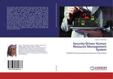 Bookcover of Security-Driven Human Resource Management System