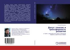 Досуг: генезис и трехсферность развития kitap kapağı