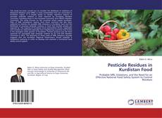 Pesticide Residues in Kurdistan Food kitap kapağı