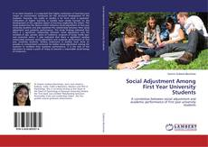 Bookcover of Social Adjustment Among First Year University Students