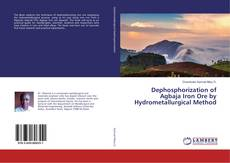 Couverture de Dephosphorization of Agbaja Iron Ore by Hydrometallurgical Method