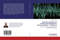 Bookcover of Dynamic Security of Interconnected Electric Power Systems – Volume 2