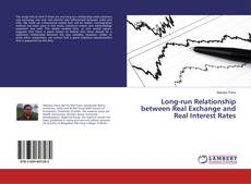 Copertina di Long-run Relationship between Real Exchange and Real Interest Rates