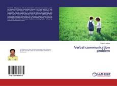 Copertina di Verbal communication problem