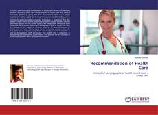 Capa do livro de Recommendation of Health Card