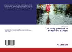 Bookcover of Clustering processes in monohydric alcohols