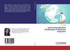 Bookcover of Internationalization Challenges of Albanian Exporters