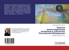 Bookcover of Оценка инвестиционной политики в субъектах Российской Федерации