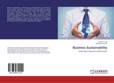 Capa do livro de Business Sustainability