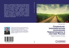 Copertina di Социально-экономическое положение Черниговщины в составе России
