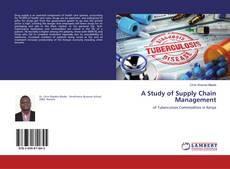 Обложка A Study of Supply Chain Management