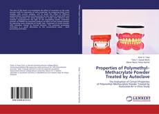 Обложка Properties of Polymethyl–Methacrylate Powder Treated by Autoclave