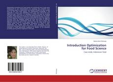 Bookcover of Introduction Optimization for Food Science