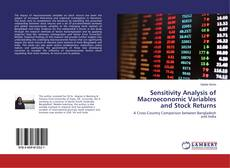 Bookcover of Sensitivity Analysis of Macroeconomic Variables and Stock Returns