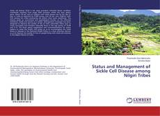 Capa do livro de Status and Management of Sickle Cell Disease among Nilgiri Tribes