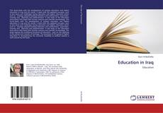 Bookcover of Education in Iraq