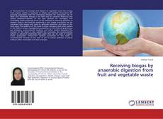 Bookcover of Receiving biogas by anaerobic digestion from fruit and vegetable waste