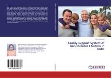 Capa do livro de Family support System of Invulnerable Children in India