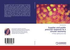 Supplier and public procurer response to a circular economy的封面