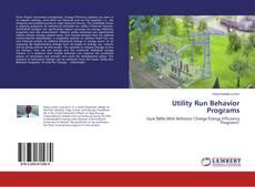 Portada del libro de Utility Run Behavior Programs