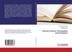 Bookcover of School Culture: Perception and Practices