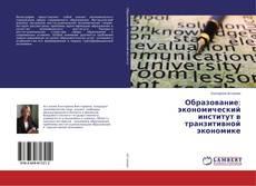 Образование: экономический институт в транзитивной экономике kitap kapağı